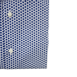 The Polka Dot Dress Shirt | Navy - duncanquinn