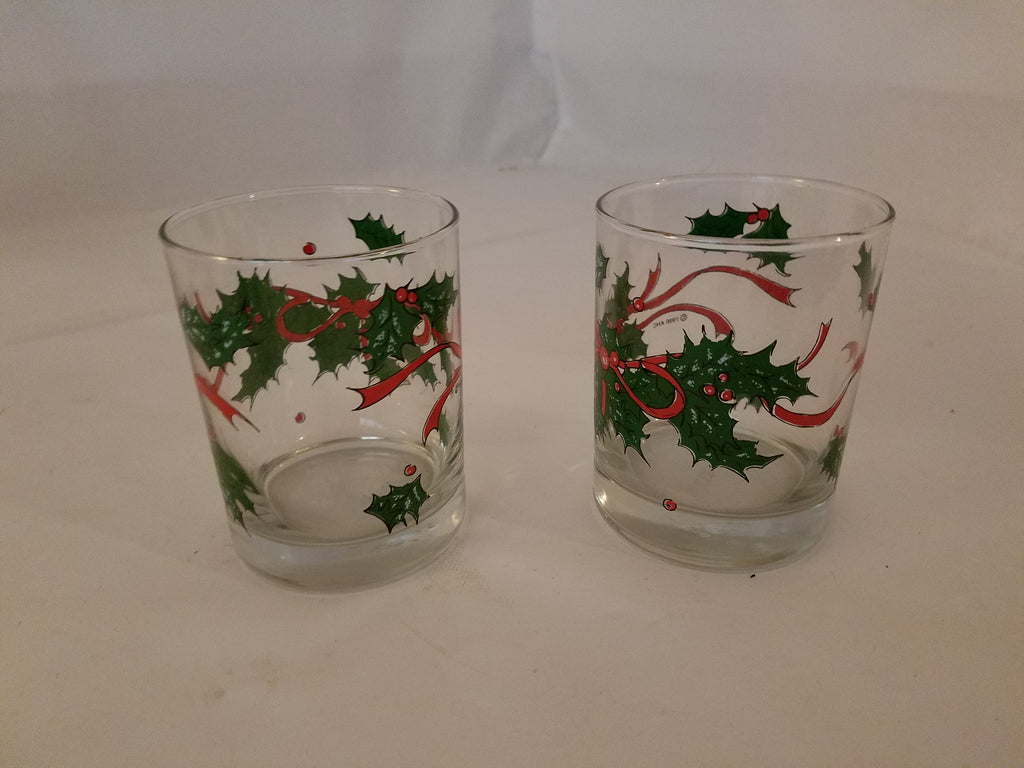 Christmas Jar and glass set