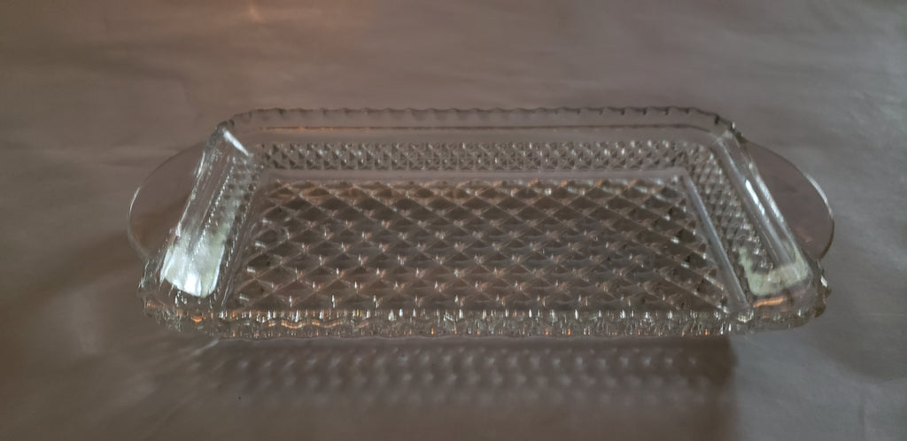 Anchor Hocking Wexford Glass Tray