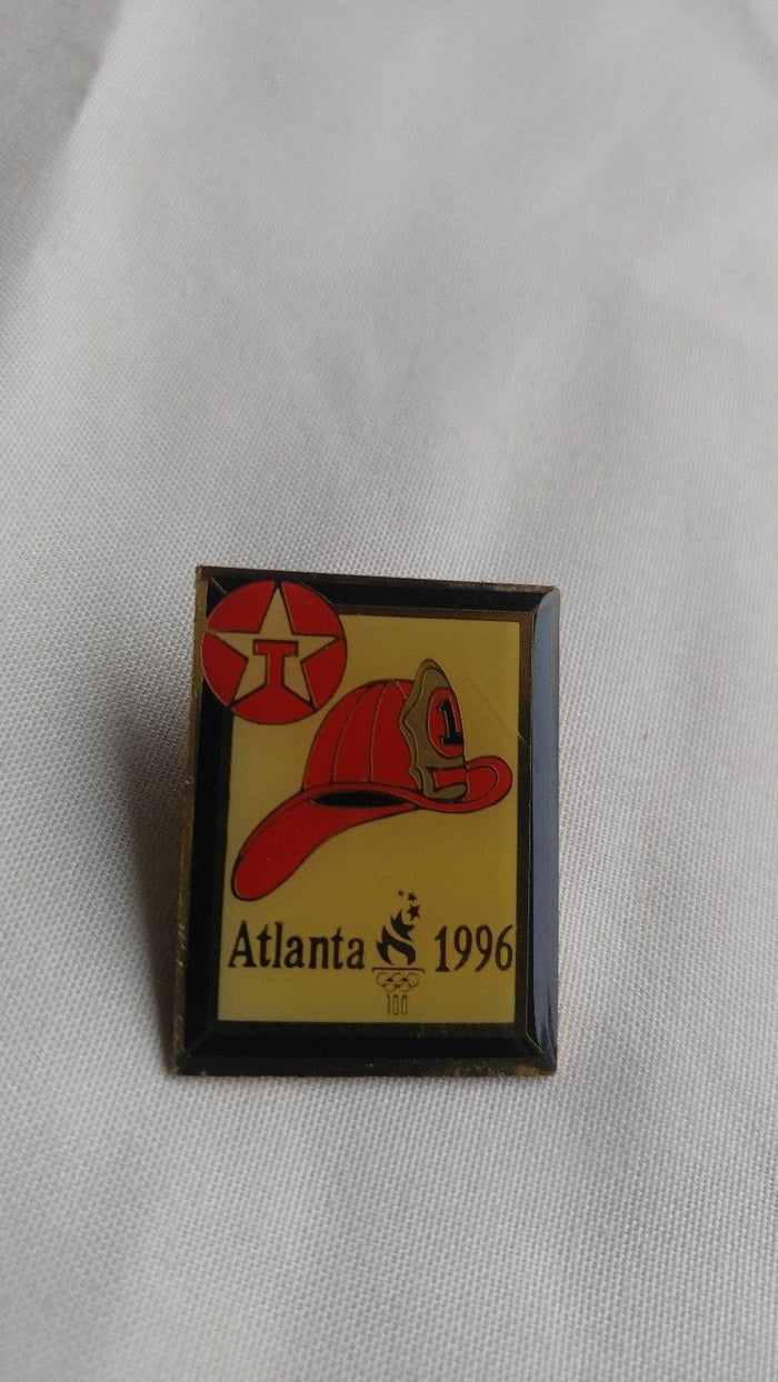 "ATLANTA 1996 Olympic ""Texaco Firefighter"" Pin"