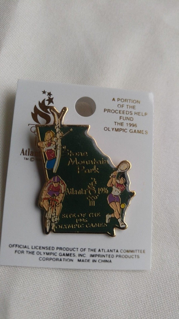 "ATLANTA 1996 Olympic ""Stone Mountain Park (Multi Sport)"" Pin"