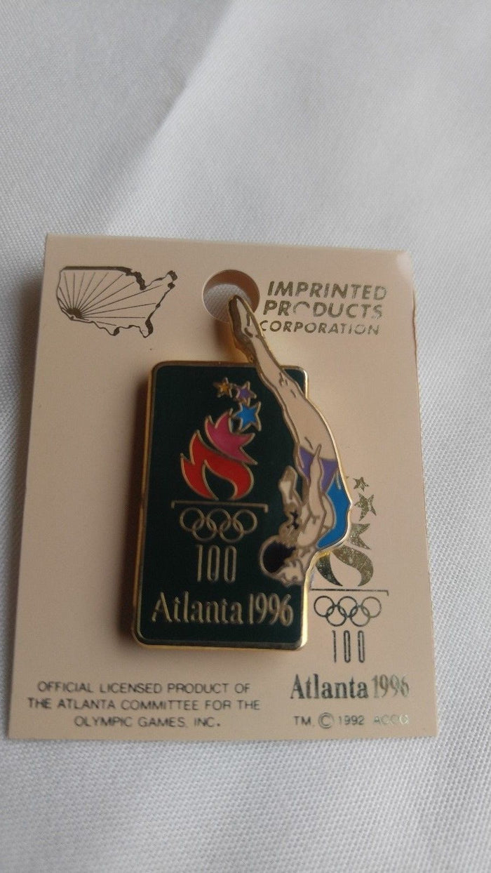 "ATLANTA 1996 Olympic ""Diving Event"" Pin"