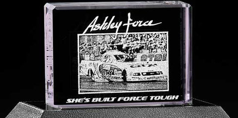 Ashley Force Racebrick