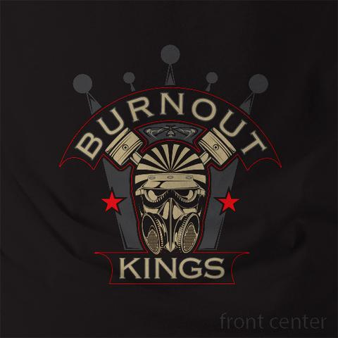 Snookys Burnout Kings Shirt Black