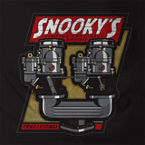 Snookys Dual Carbs Black Shirt