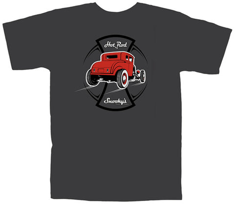 Snookys Hot Rod Shirt Charcoal