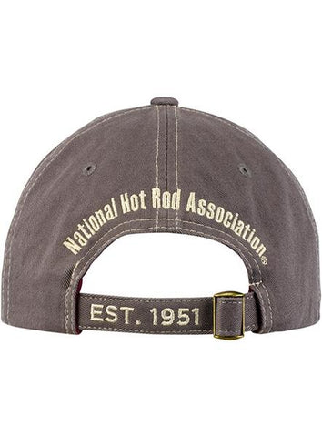 NHRA Grey Slouch Hat
