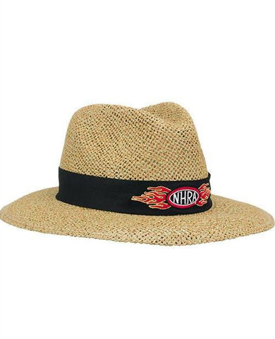 NHRA  Hat Flame Logo Straw