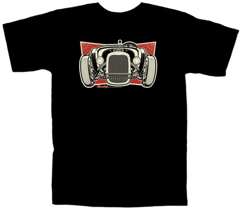 Snookys Rat Rod Shirt Black