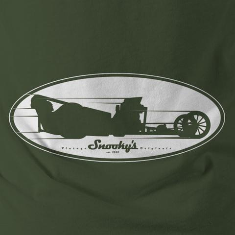 Snooky Dragster Silhouette