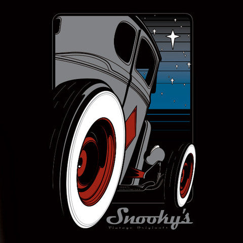 Snookys Twilight Hot Rod Black Shirt