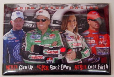 John Force Racing Team Drivers & Motto MAGNET