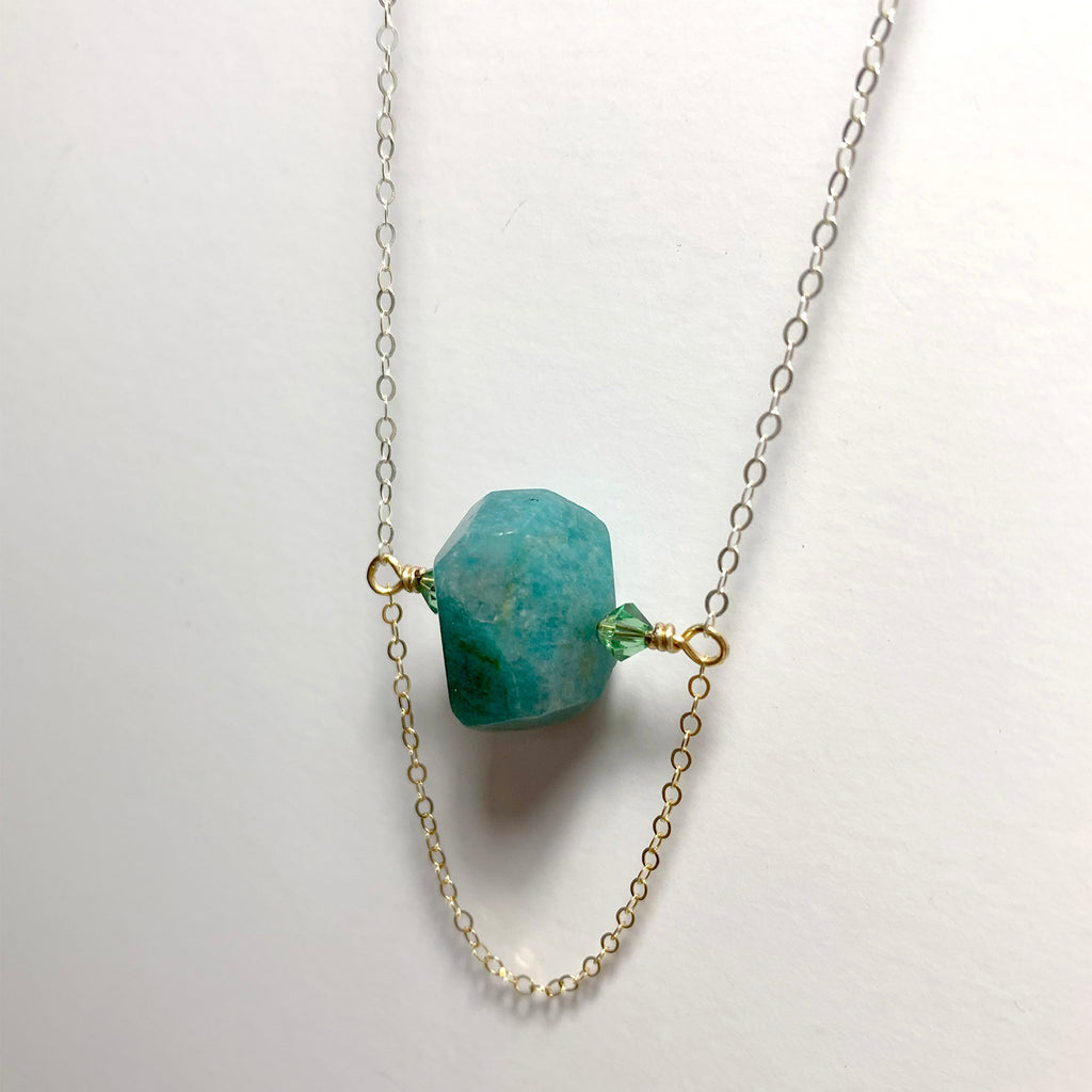 Two-Tone Amazonite Spinner