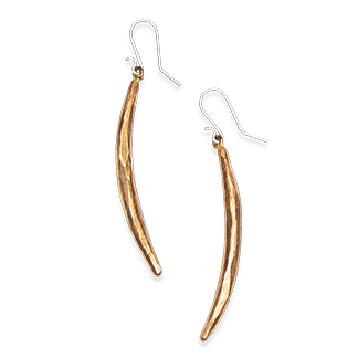 Quill Earrings - Copper