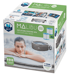 Malibu Netspa Packaging