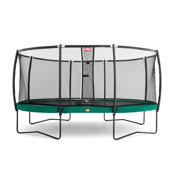 Cama Elástica GRAND CHAMPION + Red de Seguridad DELUXE