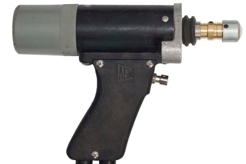 AGM CD Stud Gun with AGM Collet Adaptor B Collet and AGM Collet Protector