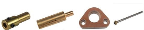 Accessories needed for a Truweld CD Gun with Collet Inserts