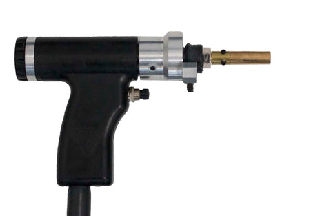 CD Gun with Soyer to CI Adaptor and Collet Insert