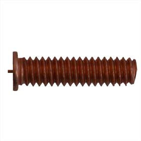 1/4-20 CD Weld Stud, Flanged, Mild Steel