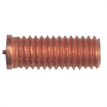 3/8-16 CD Weld Stud, Non Flanged, Mild Steel