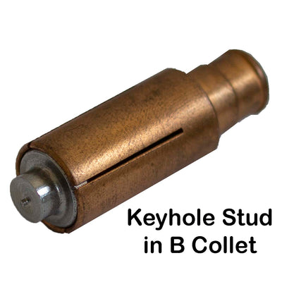 Keyhole Stud in B Collet
