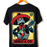 "Skelly & Co ""Robo-Mex"" Short-Sleeve Unisex T-Shirt"