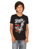 "Skelly & Co ""Astro Chick"" Youth Short Sleeve T-Shirt"