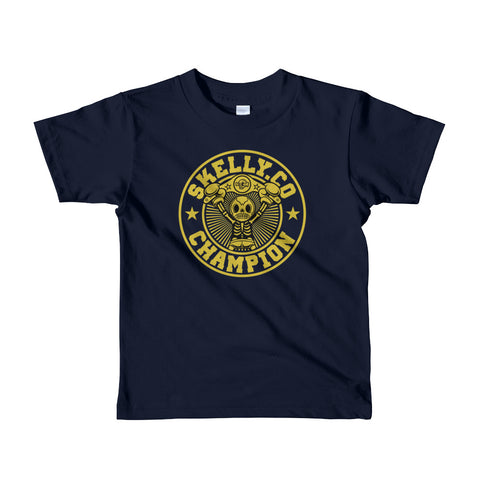 "Skelly & Co ""Champion"" Short sleeve kids t-shirt"