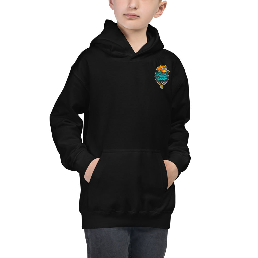 "Skelly & Co ""Monday Face"" Kids Hoodie"