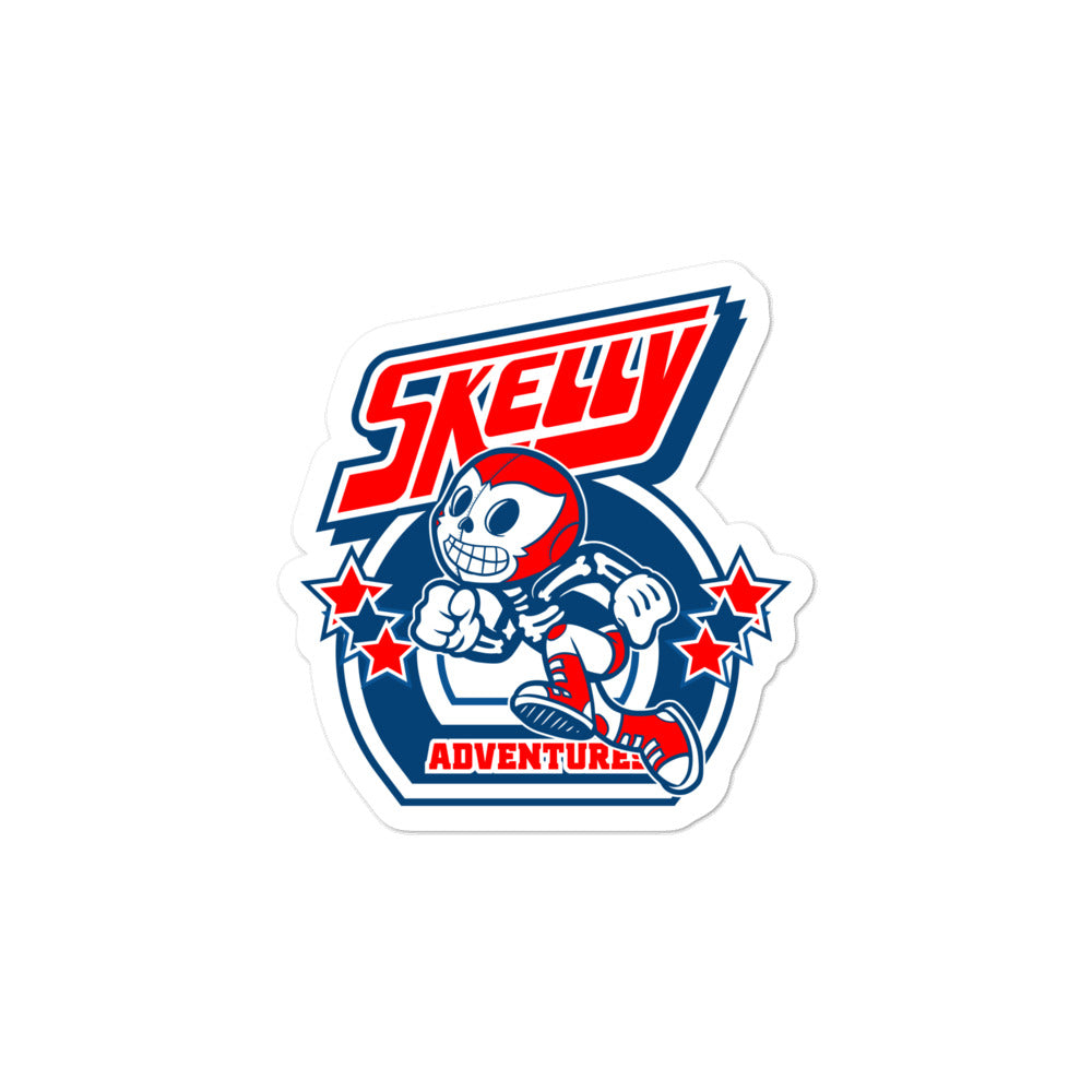 "Skelly & Co ""80's Run"" Bubble-free stickers - Skelly & Co"