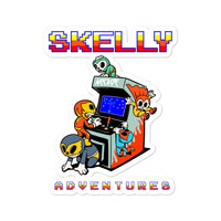 "Skelly & Co ""Arcade Team "" Bubble-free stickers - Skelly & Co"