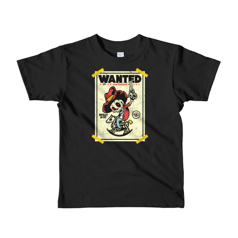 """Don Gatillo"" Kids Short Sleeve T-shirt (More Options) - Skelly & Co"