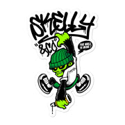 "Skelly & Co ""Hanging Out"" Bubble-free stickers - Skelly & Co"