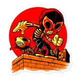 "Skelly & Co ""Ready- Action!"" Bubble-free stickers - Skelly & Co"