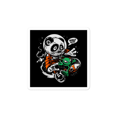"Skelly & Co ""Cosmo & Felix"" Bubble-free stickers - Skelly & Co"