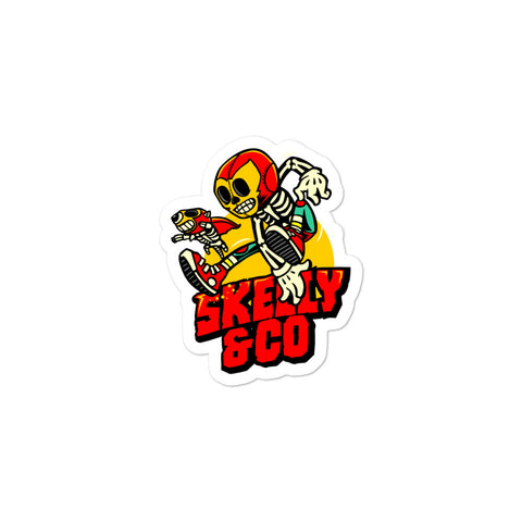"Skelly & Co ""GO GO"" Bubble-free stickers - Skelly & Co"