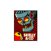 "Skelly & Co ""Giant Robot"" Bubble-free stickers - Skelly & Co"