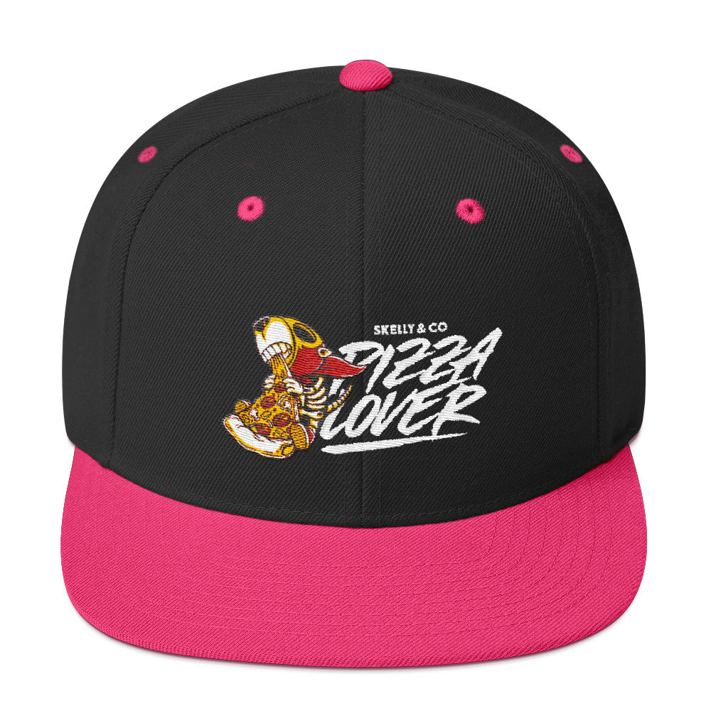 "Skelly & Co ""Pizza Lover"" Snapback Hat"
