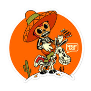 "Skelly & Co ""Mariachi Me"" Bubble-free stickers - Skelly & Co"