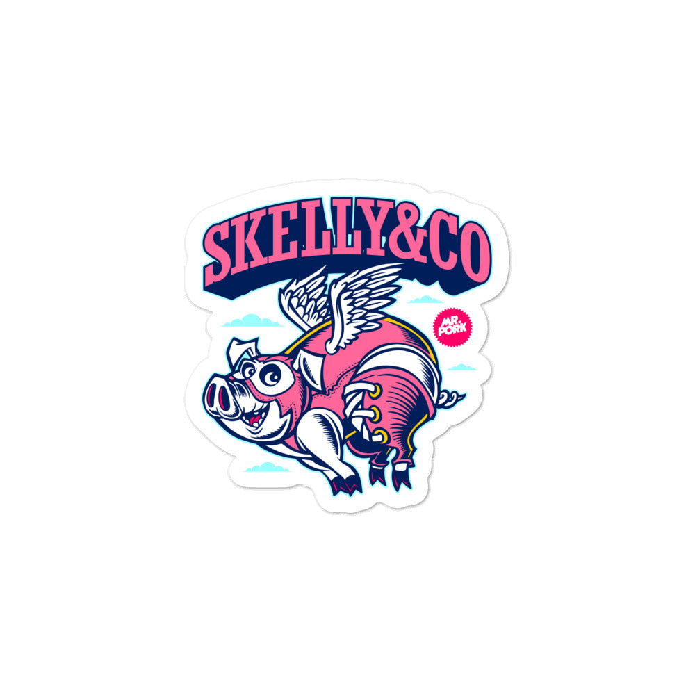 "Skelly & Co ""Believe"" Bubble-free stickers - Skelly & Co"