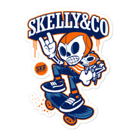 "Skelly & Co ""Best Friend"" Bubble-free stickers - Skelly & Co"
