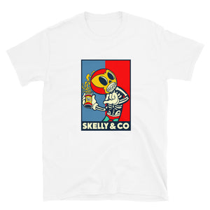 "Skelly & Co ""Pop Me"" Black & White T-Shirt"