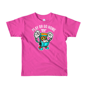 """Let's Play"" Kids Short Sleeve T-shirt (More Options)"