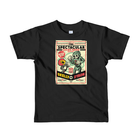 """La Pelea"" Kids Short Sleeve T-shirt (More Options) - Skelly & Co"