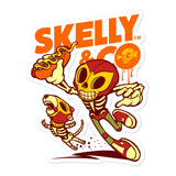 "Skelly & Co ""Hot Bone"" Bubble-free stickers - Skelly & Co"