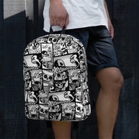 "Skelly & Co ""Comic"" Backpack"