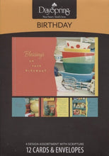 "DaySpring ""Collectible Wishes"" Birthday Greeting Boxed Cards"