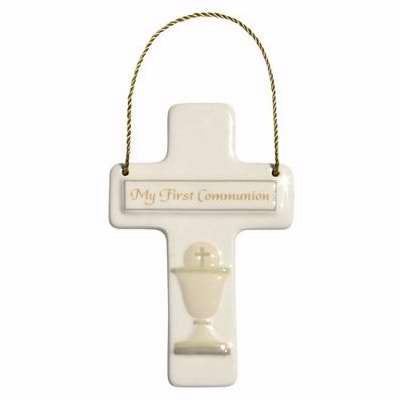 Enesco This is the Day by Gregg Gift Communion Cross Walldecor