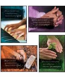 Helping Hands - Scripture Greeting Cards - KJV - Boxed - Ministry Appreciation